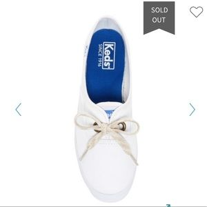 Keds/ Women's White Breeze Salt Washed sneakers